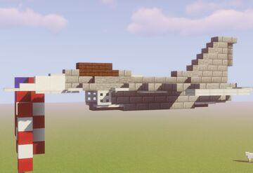 F-16 Fighting Falcon - United States Minecraft Map & Project