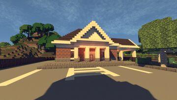 The Neighborhood Bank Minecraft Map & Project