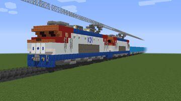 Korail Class 8000 Twins hauling a Freight Train Minecraft Map & Project