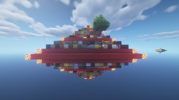 Cluster Chunk Minecraft Map & Project