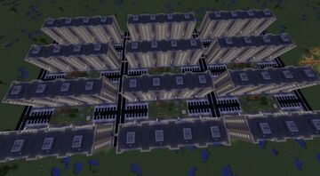 Post-Soviet microdistrict [1.14.4] Minecraft Map & Project