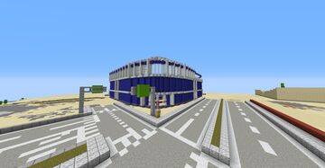 MacVarett Stadium Minecraft Map & Project