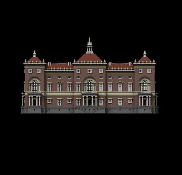 Simple Palazzo NeoPalladiano II Minecraft Map & Project