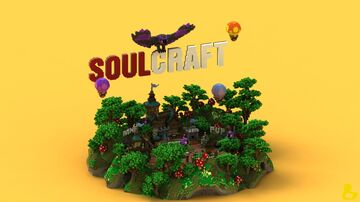 SoulCraft Spawn Minecraft Map & Project
