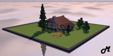 Cozy Hut Minecraft Map & Project