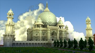 Taj Mahal: Palace - Download Minecraft Map & Project