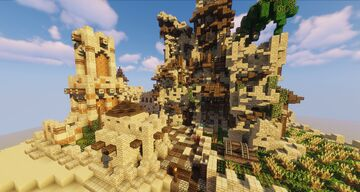 Epic Desert Village (Small) - Minecraft Cinematic + Free Download Minecraft Map & Project