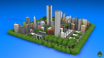 ⭐ EXCLUSIVE ⭐ Modern City - AliensBuilds 🌇 Minecraft Map & Project
