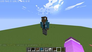statue of my VERY OLD SKIN Minecraft Map & Project
