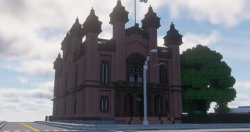 Flushing Townhall Minecraft Map & Project