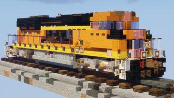 1.5:1 BNSF EMD SD70ACe-P4 Minecraft Map & Project