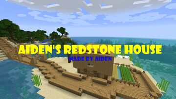Aiden's Redstone House (Version: 0.2.5) Minecraft Map & Project