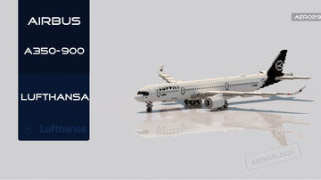 Airbus A350-900 Lufthansa [+Download] [C] Minecraft Map & Project