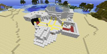 Dantdm's old lab with full treasure room Minecraft Map & Project
