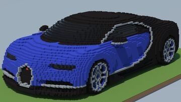 Bugatti Chiron (2 in 1) Minecraft Map & Project