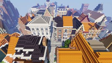 Flemish Minecraft town Minecraft Map & Project