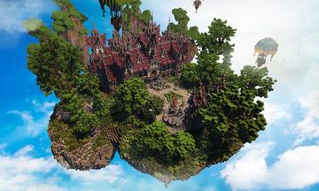 ✨ FANTASY LOBBY/HUB ✨ ► PHOENIXBUILDS Minecraft Map & Project