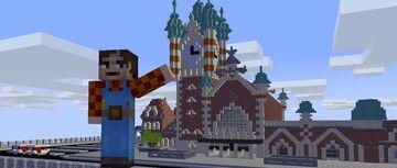 Gdansk RailWayStation Minecraft Map & Project