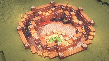Simple Underground Base Minecraft Map & Project