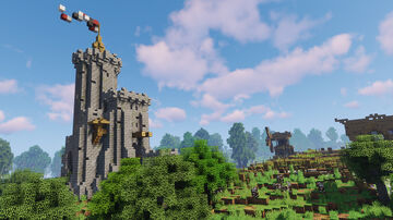 Castle and Medieval Farms (+Download) Minecraft Map & Project