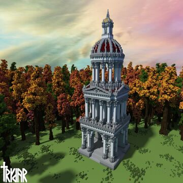 Roman Monument +tutorial Minecraft Map & Project