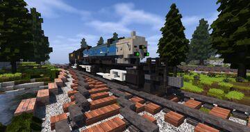 Erie Railroad Triplex Locomotive | TRS Minecraft Map & Project