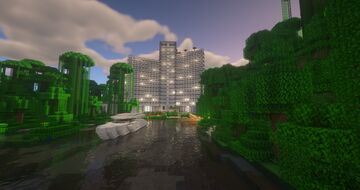 Hotel Symphony and Beach Stars Minecraft Map & Project