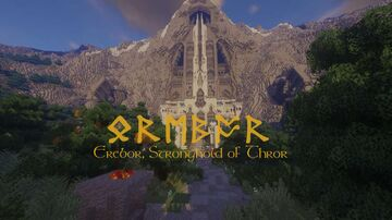 Erebor, Stronghold of Thror - a city of Durin's folk Minecraft Map & Project