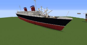 SS America 1940 Minecraft Map & Project