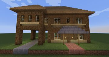 Two Story House #3 Minecraft Map & Project
