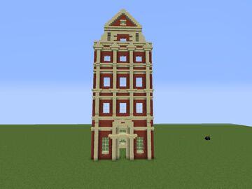 Fasada Kamienicy Minecraft Map & Project