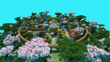 Konoha in miniature Summer-winter option Minecraft Map & Project