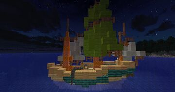 Lugger of a Merchant Minecraft Map & Project