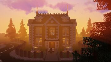 English Manor | Interior Decorated [SCHEMATIC] Minecraft Map & Project
