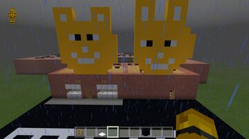 fnaf map. (fredbears and friends pizzeria) Minecraft Map & Project