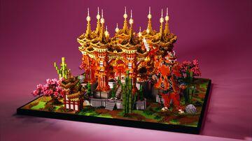 HCF Spawn Oriental/Asian Minecraft Map & Project