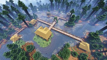 Spruce Town! Minecraft Map & Project