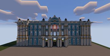 Winter Palace, St Petersburg, Russia Minecraft Map & Project