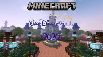 Walt Disney World 2020 Minecraft Map & Project