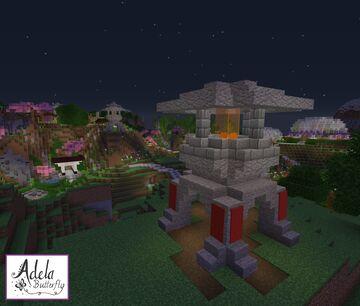 Japanese Toro lantern Minecraft Map & Project