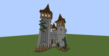 Castle (with interior) Minecraft Map & Project