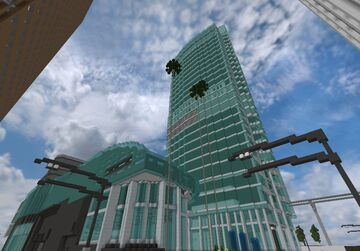 Wilshire Grand Center Minecraft Map & Project