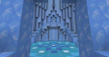 Elsa's Castle Minecraft Map & Project