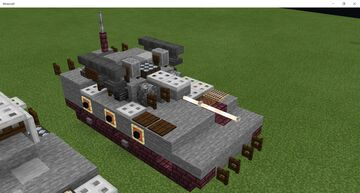 Type 89 IFV (1.5:1 Scale) Minecraft Map & Project