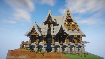 Casa Medieval Mediana Minecraft Map & Project
