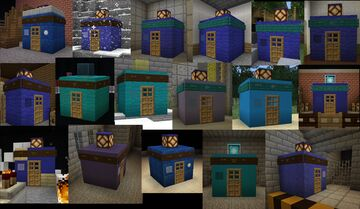Doctor Who - TARDISes Version 6 Minecraft Map & Project
