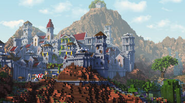 Goldvain River Citadel - First Dawn Project Minecraft Map & Project