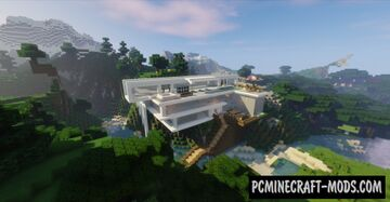 MOUNTAIN STATION 16.1 SURVIVAL BASE Minecraft Map & Project