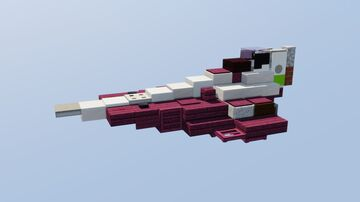 Delta-7 Aethersprite-Class Light Interceptor Minecraft Map & Project