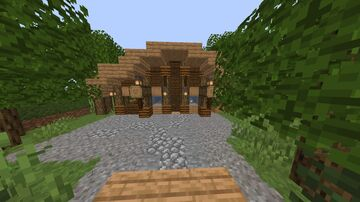 Melonness' Oak Forrest home build Minecraft Map & Project